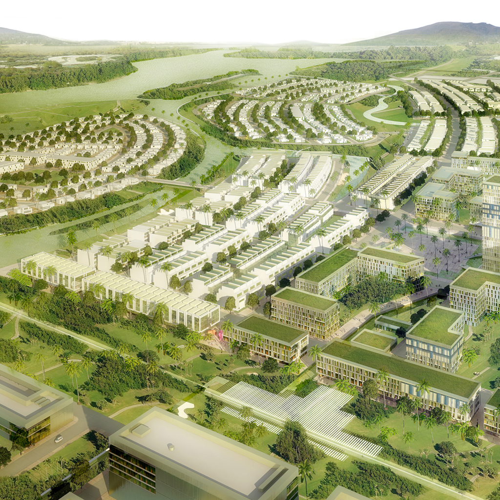 GODLEN HILLS ECOLOGY CITY PROJECT